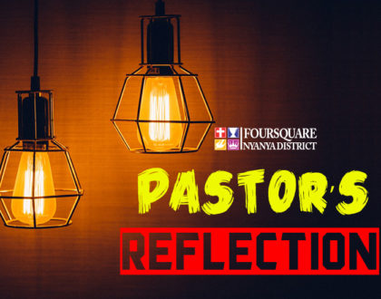 08:05:2018 PASTOR'S REFLECTION