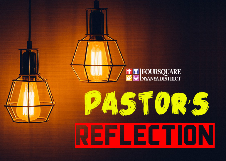 29:07:2018 Pastor's Reflection
